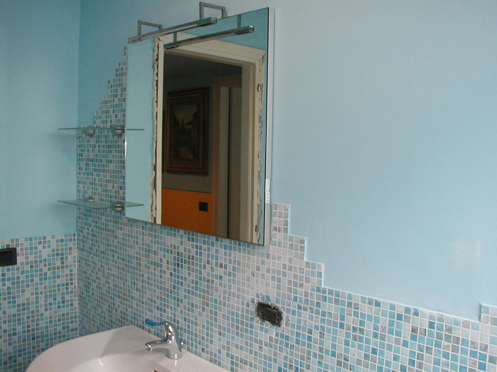 Mobili ikea cucine - Mosaico azzurro bagno ...