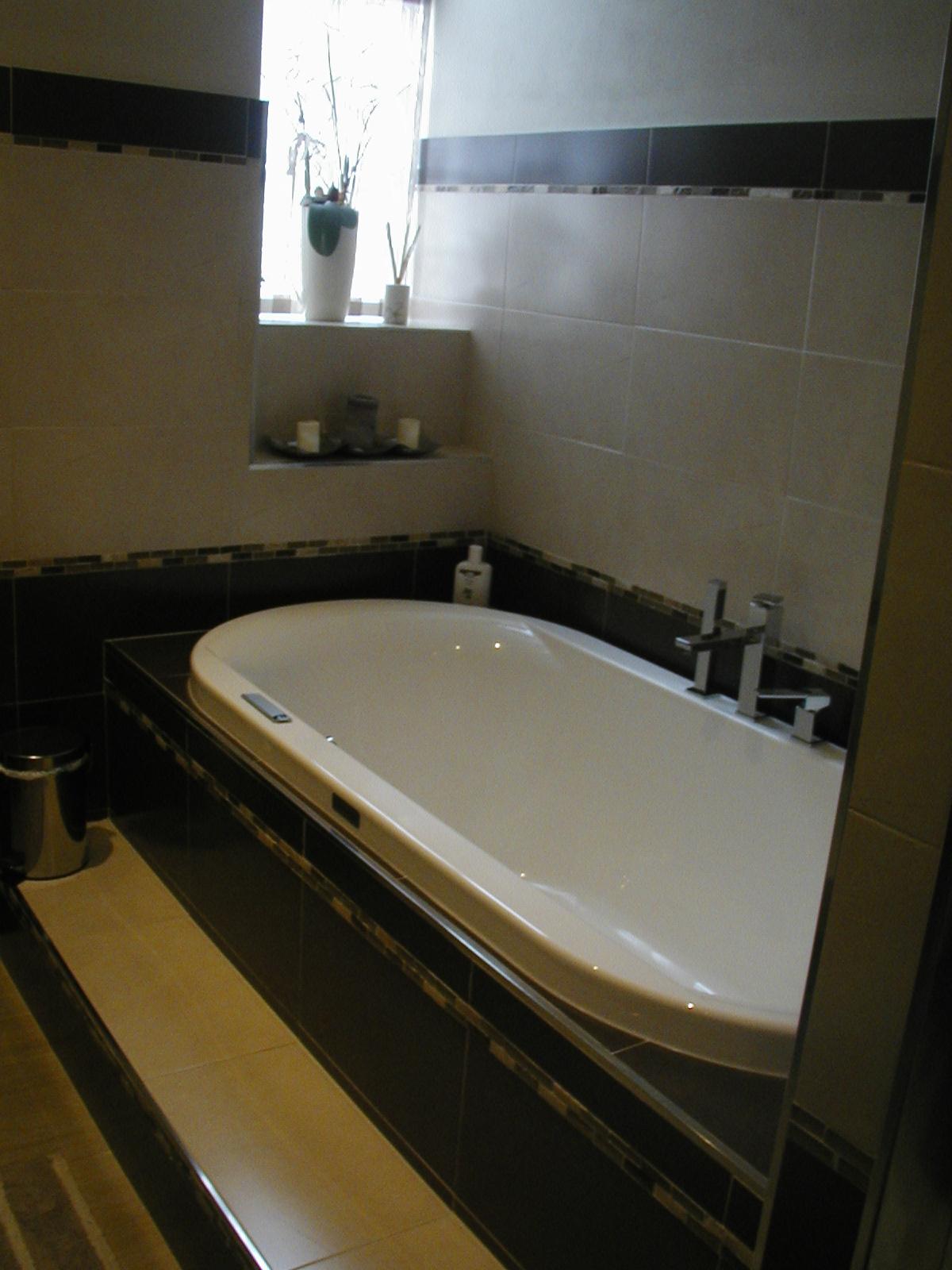 Vasca da bagno ad angolo ideal standard connect e vasca da bagno ad angolo x colore with vasca - Bagno con vasca ...