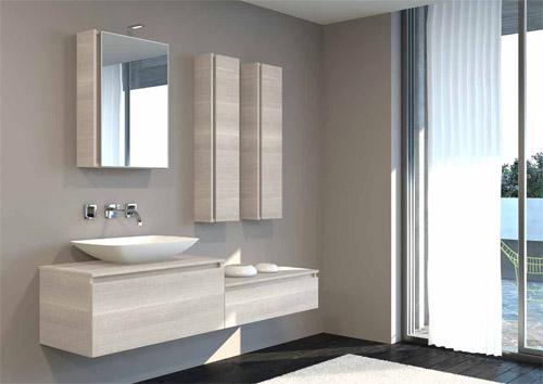 Lavabo Esterno Moderno : Mobile da bagno con lavabo cool dina mobile da bagno cm noce eban