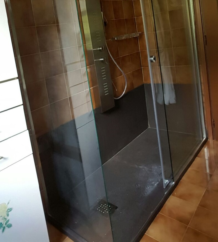 Idraulica pelamatti   trasformazione vasca in doccia lavori realizzati